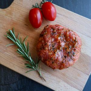 Vleeshouwerij Saasveld gemarineerde hamburger