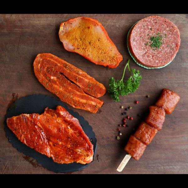 703 Barbecue pakket B met Procureurslapje