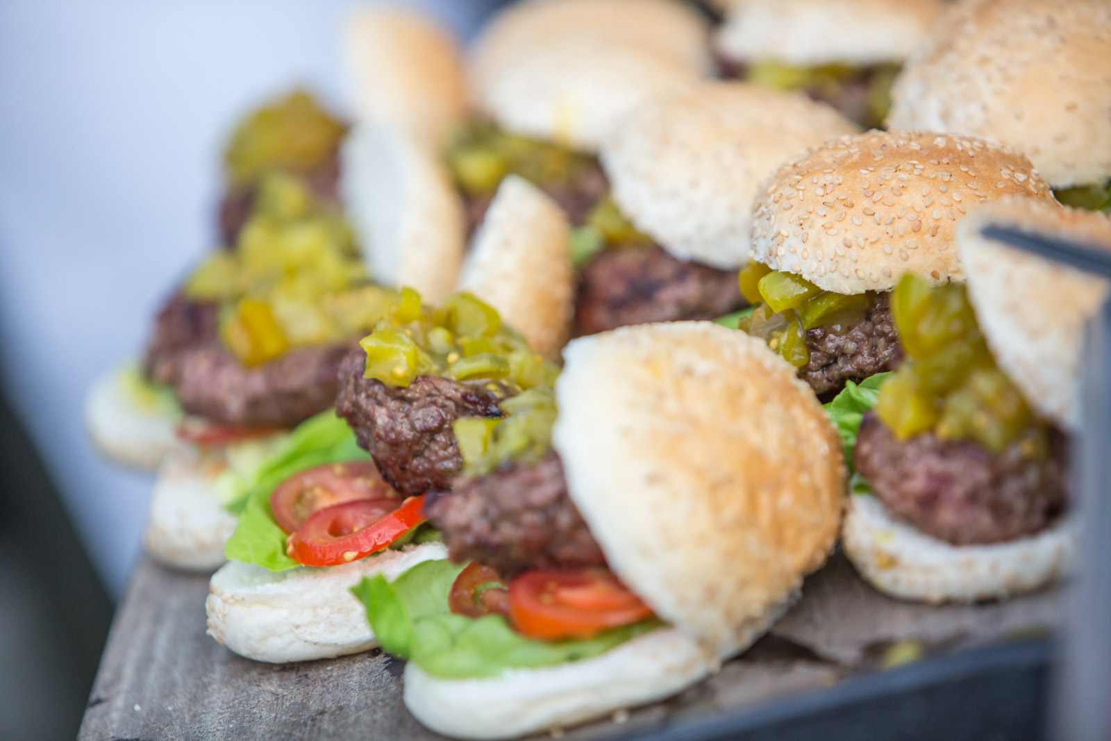 Buffet Hamburgers