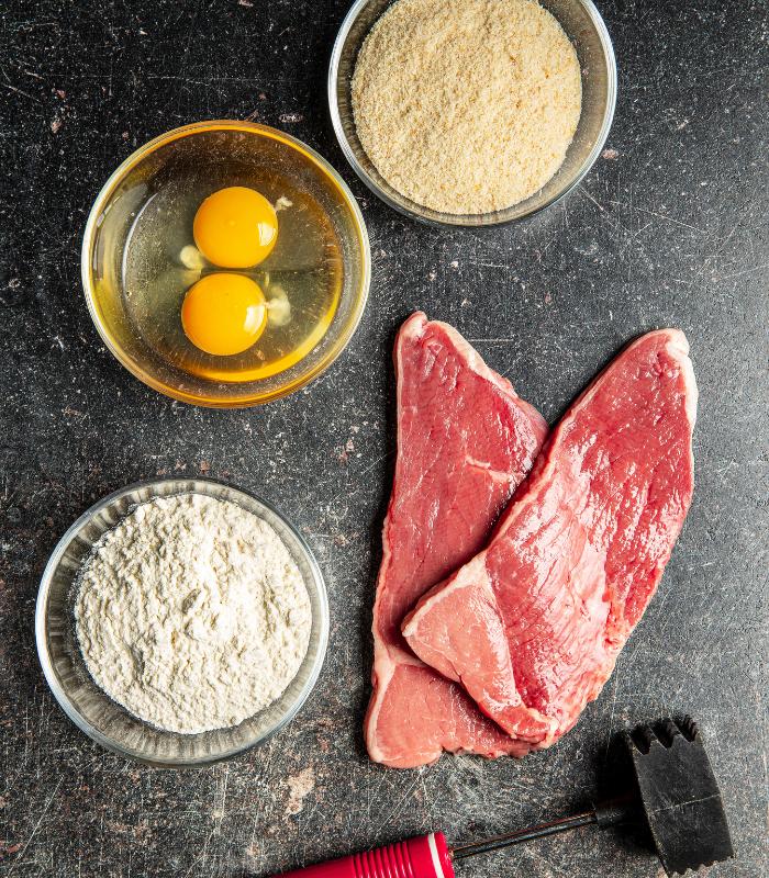 Ingrediënten Wiener schnitzel Vleeshouwerij Saasveld